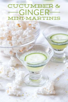 Cucumber Ginger Martini