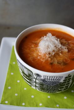 Tomato Bread Soup by Heather Christo, via Flickr