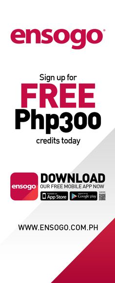 Ensogo's Mall Activation Campaign Tarpaulin Layout