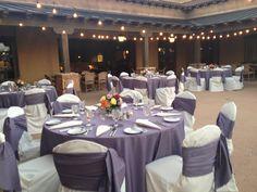 Veranda Reception - BBJ Purple Smoke