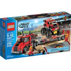 LEGO City Great Vehicles Monster Truck Transporter