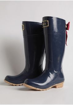 Evedon Rain Boots by Joules | Modern Vintage Boots | Modern Vintage Shoes | Ruche
