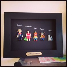 Une photo de famille playmobil ... - Aux quatre vents ...