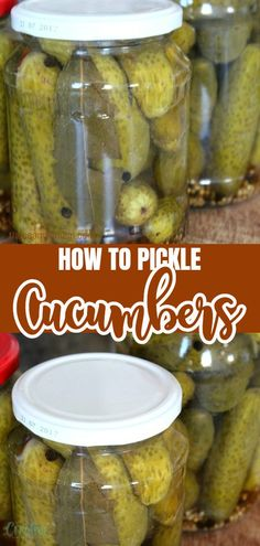 My mom showed me how to pickle cucumbers at a very early age and I've been using this recipe for a lot of years, with great success. #easypeasycreativeideas #recipe #pickles #canning #canningtips #pickledcucumbers #pickled #pickling #dill #dillrecipe #homemakingtips #homemaking #homestead Dill Recipes, Mom Show, Canning Tips, Pickling Cucumbers, Side Dishes Easy, Easy Peasy, Homemaking, Vinegar, Pickles