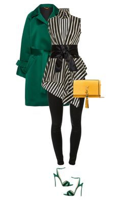 """""""Untitled #463"""" by nc-young ❤ liked on Polyvore featuring Smarteez, J Brand, Casadei and Yves Saint Laurent"""