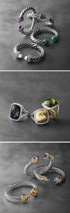 Beautiful Jewelry ~ middle pic only, da rings, ROCK! I'lll take them all ~ oxoxoxo