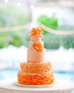 A wedding cake a made last spring for one of my best friends!  one of my favorite cakes by Marina Sousa (photo by mibelle photography)