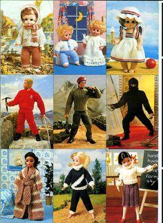 Vintage Sindy Doll Knitting Pattern still have this