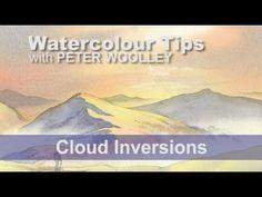 Winter in Wensleydale - Watercolour Demonstration by PETER WOOLLEY - YouTube