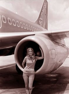 Flashback Fridays: The Start of Southwest's Long Tradition of Serving Houston Hobby « Nuts About Southwest