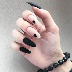 35 summer can also be recommended with Frosted nail style nails;bestnails Nails 35 summer can also be recommended with Frosted nail style Square Nail Designs, Black Nail Designs, Gel Nail Designs, Heart Nail Designs, Almond Nails Designs, Stylish Nails, Trendy Nails, Short Square Nails, Fire Nails