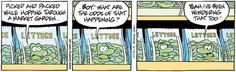 The Swamp is a funny comic by Gary Clark on Swamp Cartoons… Gary Clark, Funny Character, A Funny, Funny Comics, Lettuce, Cartoons, Childhood, It Cast, Humor