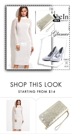 """""""Elegant style ,dress ,SheIn 3/IV"""" by sajra-de ❤ liked on Polyvore"""
