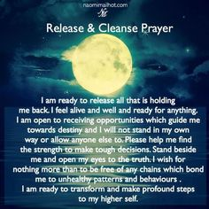 Release and cleanse prayer Spiritual Cleansing, Spiritual Health, Spiritual Growth, Sage Cleansing Prayer, Reiki, Mantra, Yoga, Smudging Prayer, Sage Smudging