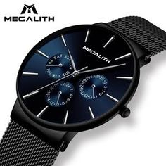 Quartz Ultra Thin Men's Quartz Simple Cheap Watches Outfit Accessories From Touchy Style. Cheap Watches, Watches For Men, Mesh Armband, Smart Watch, Quartz, Luxury, Simple, Stuff To Buy, Accessories