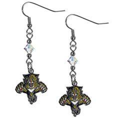 Florida Panthers Dangle Earrings