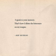 """Your memory"" 