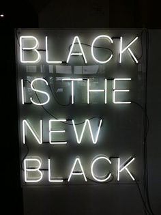 Black Is The New Black | Colour