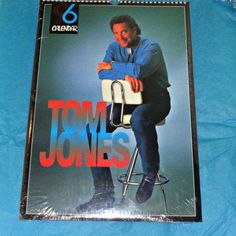 Rare Tom Jones 1996 Culture Shock Calendar by OwlVintageCalendars