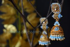 Instagram: eleonora_accessoriez Pastel Blue, Fashion Accessories, Drop Earrings, Facebook, Womens Fashion, Instagram, Jewelry, Jewellery Making, Jewels