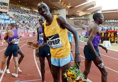 It's only Asbel who can stop Kiprop in Beijing