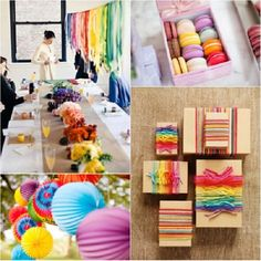 Rainbow Event Inspiration | Occasions® - Weddings, Parties, Mitzvahs, Entertaining & All Celebrations