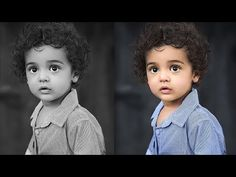 How to Colorize Black and White Images in Photoshop - YouTube