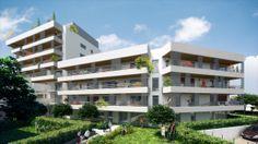 Vue extérieure d'un programme immobilier neuf (VEFA)