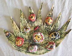 Keramická louka. Práce předškoláků našeho výtvarného studia. Crown, Jewelry, Corona, Jewlery, Jewerly, Schmuck, Jewels, Jewelery, Crowns