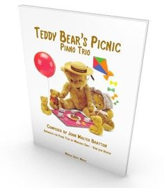 The Teddy Bears' Picnic for Piano Trio, score and parts in PDF