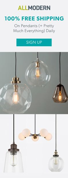Pendants - Sign up now for FREE SHIPPING on orders over $49 at allmodern.com!