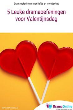 Op 14 februari is het Valentijnsdag. Een dag over liefde en vriendschap die voor veel kinderen spannend is. Hier vind je 5 dramaoefeningen, die perfect passen bij Valentijnsdag.