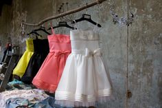 The colours of the party dress from Dsquared2 kids fashion new launch collection at Pitti Bimbo 77.