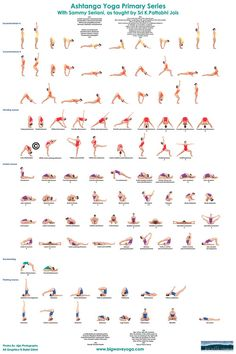Ashtanga Yoga poses