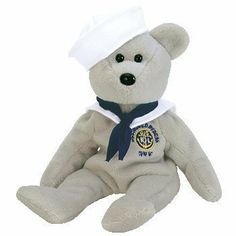 TY Beanie Baby - RONNIE the Sailor Bear (USA Exclusive) by Ty, http://www.amazon.com/dp/B0009FZVVY/ref=cm_sw_r_pi_dp_a5Hbqb0AFS4D4