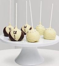 Chocolate Dipped Wedding Pops