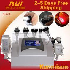 Wholesale Cavitation Head - Buy 2014 9-in-1 Multifunction Lipo Laser Slimming Equipment Ultrasound Cavitation RF For Beauty Salon Use, $960.21 | DHgate
