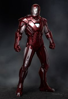 Iron Man 3 Concept Art by Andy Park