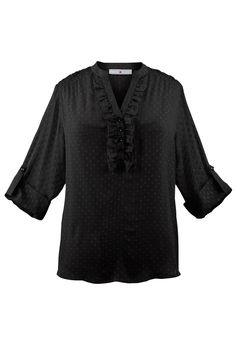Plus Size Pullover Dot Blouse & Cami Set | Plus Size Shirts & Blouses SALE | Avenue
