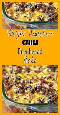 Chili Cornbread Bake - Emily Bites