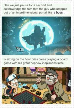 Aww! How cute! Gravity Falls