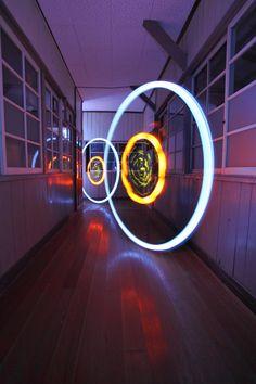 Desafio Criativo: Graffitis 3D Geométricos de Luz por Trevor Williams (Fiz-iks)