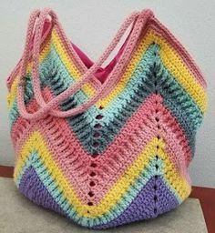 One Skein Crochet, Diy Crochet, Crochet Top, Crochet Bags, Crochet Beach Dress, Granny Square Bag, Beginner Crochet Tutorial, Tapestry Crochet Patterns, Diy Bags Purses