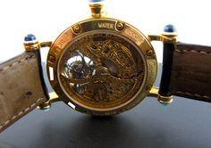 Cartier Yellow Gold Diabolo Automatic Tourbillon T1025