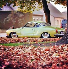 Karman Ghia! Still plan on owning one of these some day.