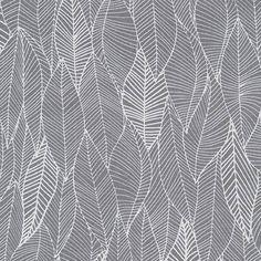 Leaf in grey