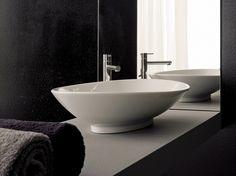 Scarabeo Ceramiche NECK Lavabo da appoggio in ceramica  Collezione Thin Line    63 x 45 341,90 euro