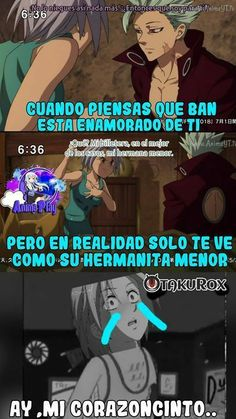 Very Funny Memes, Seven Deadly Sins Anime, All The Things Meme, Anime Princess, Attack On Titan Anime, Disney Cartoons, Otaku Anime, Yandere, Anime Love