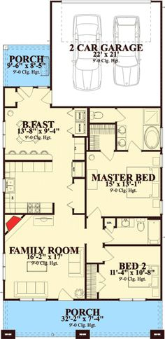 House plan 1164es the park place not really cabinny for House plans for retired couples