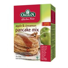 Orgran Gluten Free Apple Cinnamon Pancake Mix 132 oz -- You can get additional details at the image link. (This is an affiliate link) German Apple Pancake, Apple Pancake Recipe, Fruit Pancakes, Pancakes And Waffles, Making Pancakes, Sin Gluten, Gluten Free, Baby Food Recipes, Gourmet Recipes